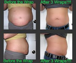 Body Wrap Before and After